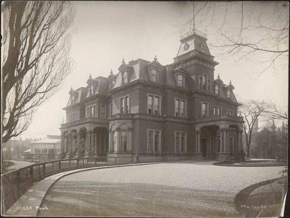 Government House, Lieutenant Governor's Residence, Toronto