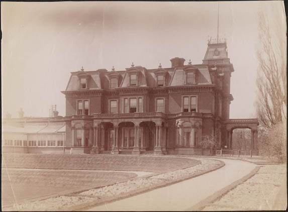 Government House, Lieutenant Governor's Residence, Simcoe Street and King Street West, Toronto