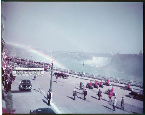 Royal visit to Niagara Falls