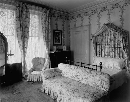 Bedroom of the Lieutenant-Governor, northeast corner of upper hall, Government House