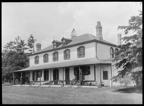 Davenport, the house of Colonel Joseph Wells, east of Bathurst Street and north of Davenport Road, Toronto