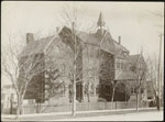 Historic photo from 1890 - Jarvis Street Collegiate Institute - built 1871, across from Allans Gardens in Garden District