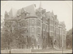 Historic photo from 1890 - McMaster Hall - now the Royal Conservatory of Music building - built 1881 in Royal Ontario Museum