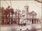 Historic photo from 1890 - Our Lady of Lourdes Church, 520 Sherbourne St., Toronto in Upper Jarvis