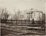 Historic photo from 1867 - Osgoode Hall - by Octavius Thompson in City Hall