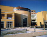 Historic photo from Monday, November 25, 1991 - Vari Hall, York University, exterior in York University