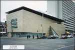 Historic photo from Tuesday, January 24, 1995 - Bata Shoe Museum completed, north east elevation on the south/west corner of Bloor and St. George in Huron Sussex