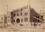 Historic photo from 1891 - Construction of the Ontario Legislative Building, Queen's Park in Queens Park