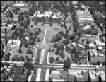 Historic photo from 1949 - Aerial view of Queens Park, University and College in Queens Park