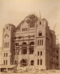 Historic photo from 1891 - South facade of the Ontario Legislative Building complete during construction in Queens Park
