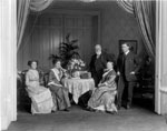 Historic photo from 1912 - Lieutenant-Governor John Gibson and family in King Street West