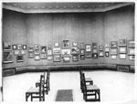 Historic photo from 1920 - Lots of art on the walls at the Art Gallery of Toronto in Art Gallery of Ontario