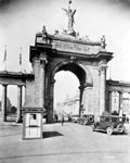 Historic photo from 1927 - Prince of Wales entrance [Princes Gates] in CNE