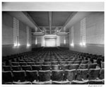 Historic photo from Friday, October 24, 1947 - Lansdowne Theatre auditorium and screen - just north of Bloor in Wallace Emerson