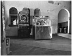 Historic photo from Monday, October 27, 1947 - La Plaza Theatre concession stand - In 1962 it became the Dundas, and in 1965, Cinema Ellas in Riverside-South Riverdale