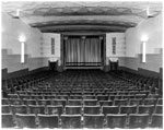 Historic photo from 1947 - Circle Theatre auditorium and screen in North Toronto 1933-1956 in Sherwood Park