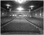 Historic photo from Tuesday, October 21, 1947 - College Theatre auditorium - opened May 24, 1920 - closed 1967 in Dufferin Grove