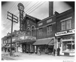 Historic photo from 1942 - Belsize Theatre - 551 Mount Pleasant - opened 1922 - renamed The Crest in 1950 - now the Regent in Davisville Village