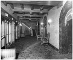 Historic photo from 1943 - Hollywood Theatre - entrance to auditorium - opened 1930, closed 1999 in Deer Park