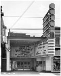 Historic photo from 1947 - Odeon Danforth Theatre - 635 Danforth Ave - marquee and sign - became the Rex Danforth in The Danforth