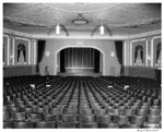 Historic photo from Friday, October 31, 1947 - Parkdale Theatre - auditorium, facing screen - opened 1924, closed 1970 in Parkdale