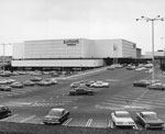 Historic photo from 1965 - Exterior of Eatons store at Yorkdale Shopping Mall in Yorkdale