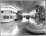 Historic photo from 1972 - Art Moderne auditorium foyer at Eatons Seventh Floor (now the Carlu) - designed by Jacques Carlu in College Street