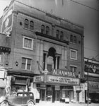 Historic photo from 1947 - Alhambra Theatre - 568 Bloor Street - built 1910 as the King George Theatre also Baronet and then Eve in Seaton Village