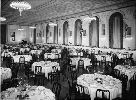 Banquet Hall in the Royal York Hotel