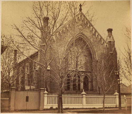 Unitarian Church, Jarvis St., Toronto, erected 1854