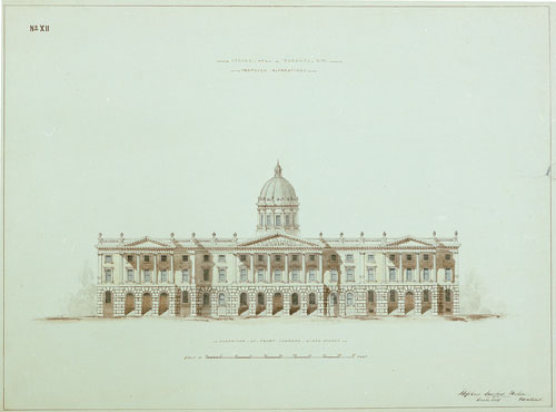 Osgoode Hall; elevation