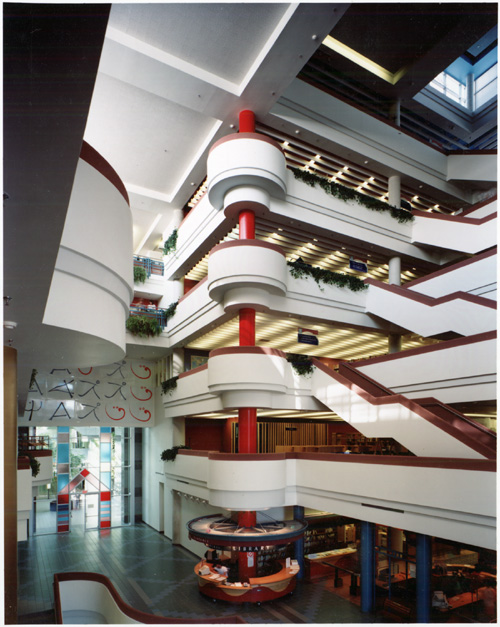 Interior of the North York Central Library