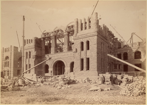 Construction of Parliament Buildings, Queen's Park