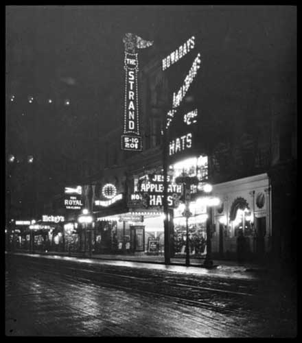 View of the Strand, on Yonge Street, north of King Street, Toronto